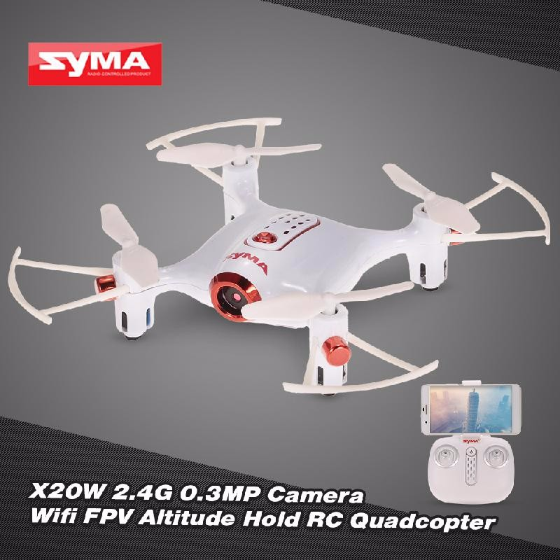 GoolRC White syma x8hw wifi fpv locking high rc quadcopter drone with wifi camera 2 4ghz 6 axis gyro remote control quadcopter
