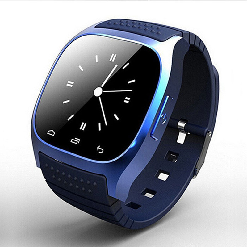 TIMARCO M26-Blue x7 round dial smart watch bluetooth smart wearable device watch