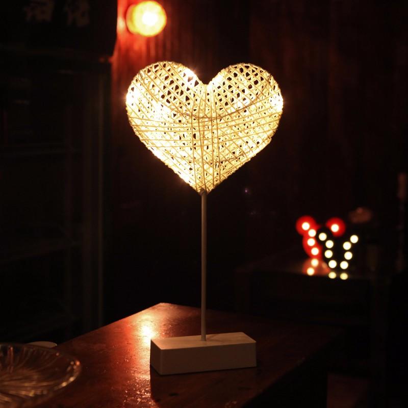 LUOMU ЛЮБОВЬ теплый белый jiaderui ballon led night lamp wooden table light for kids gift bedside bedroom living room indoor lighting home decoration