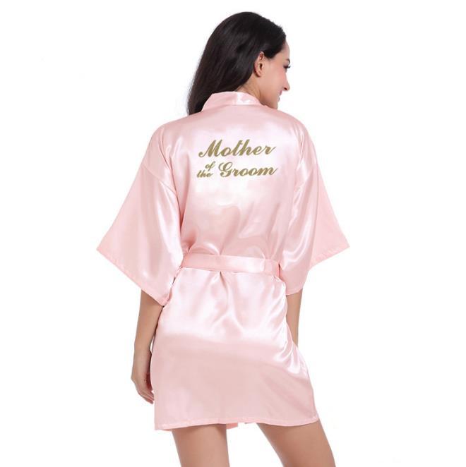 oye розовый S халат