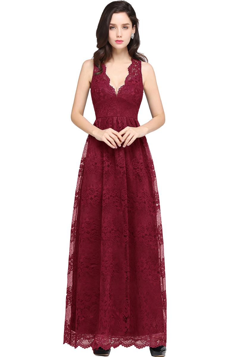 Платье вечернее вечернее babyonlinedress Красное вино США 14 Великобритания 18 ЕС 44 фото