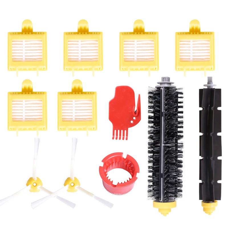 yomekoly черный Китайский стандарт 6pcs hepa filter suitable for roomba irobot 500 600 series aerovac filter 528 536 551 552 564 580 595 620 630 650