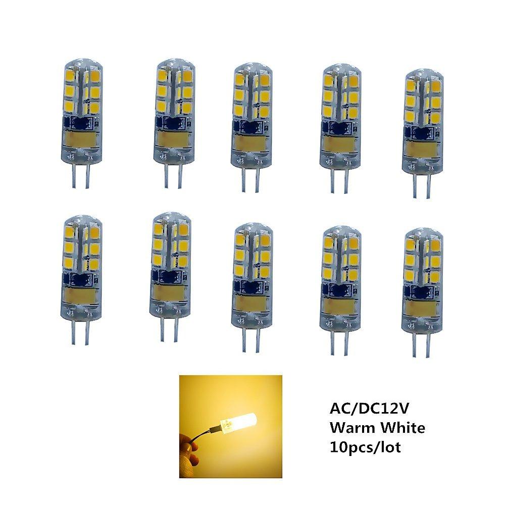 hntoolight G4 светодиодная лампа AC  DC12V Warm White 7 w 12v g4 светодиодная лампа с регулируемой яркостью