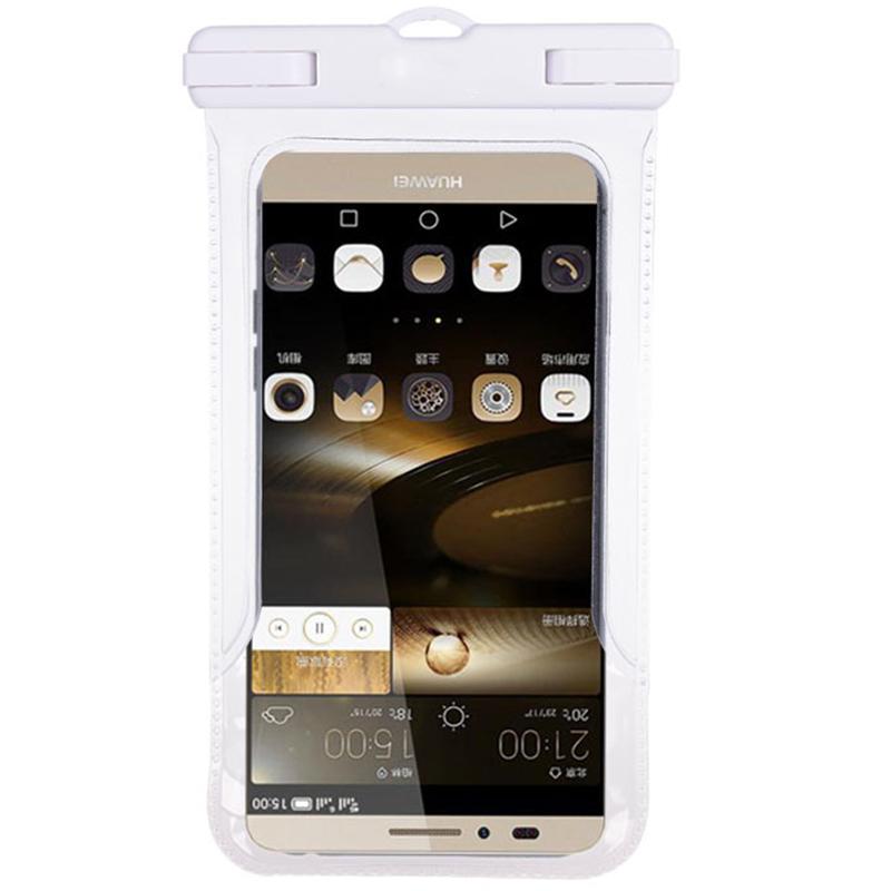 JAJALIN Прозрачный белый мобильный телефон sop p668