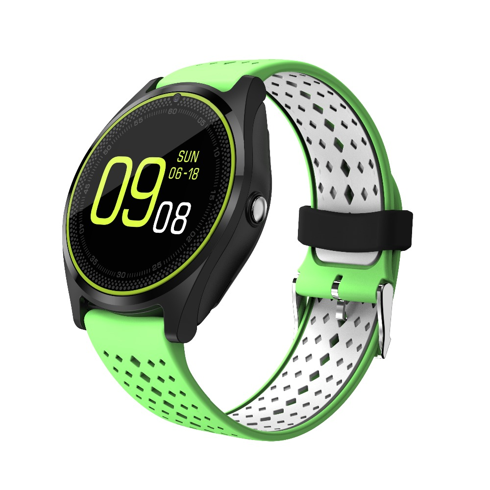 chkj Зелёный цвет 438mm uwatch bluetooth smart watch wristwatch with gps pedometer smartwatch wearable devices for android phone relojes inteligentes