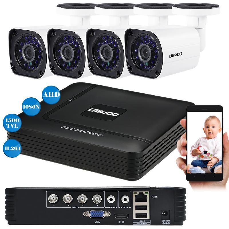 koogeek белый Стандарт ЕС видеорегистратор для видеонаблюдения