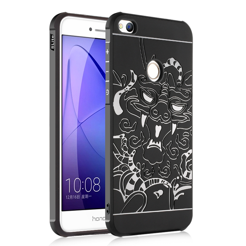 goowiiz Черный дракон HUAWEI Nova Lite смартфоны huawei nova lite gold