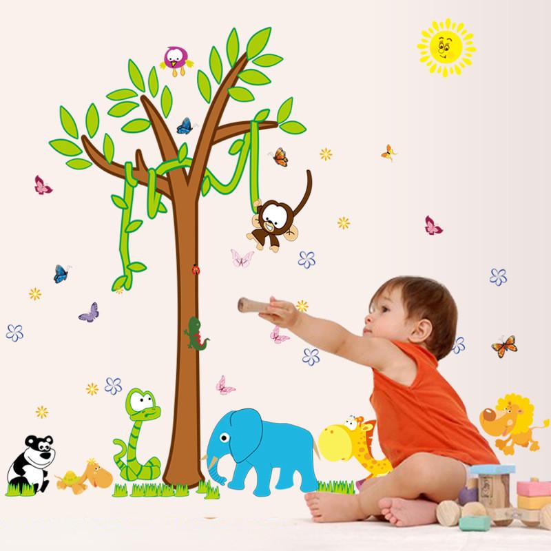 Стены наклейки фрески Декоративные наклейки стены наклейки стены наклейки для малышей Quail Дети фото