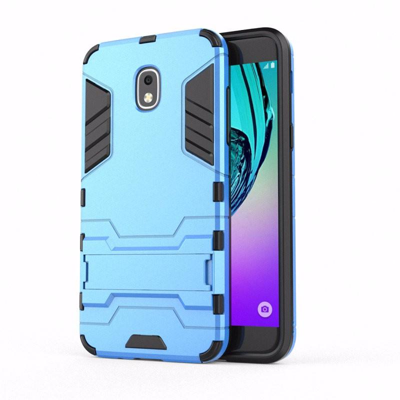 WIERSS синий Ударопрочный жесткий чехол для Samsung Galaxy J3 2018 J3 Star достигает Amp Prime 3