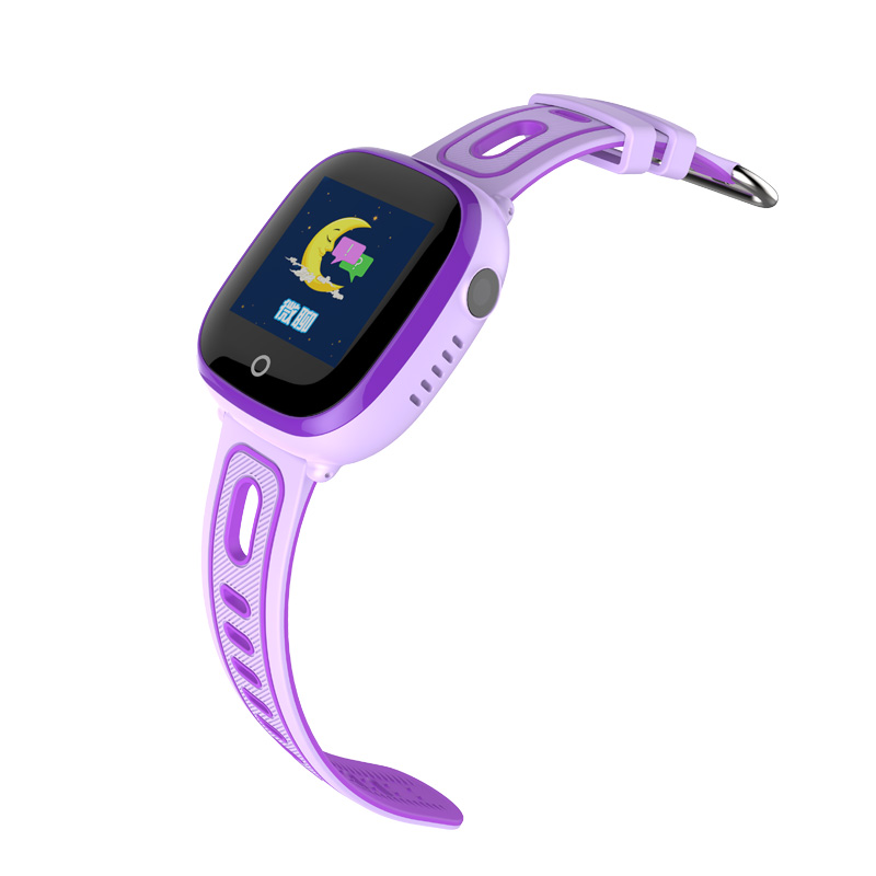 CHIGU Фиолетовая английская версия 38мм children baby gps smart watch for kids safe q90 sim wifi touch screen sos call location tracker vibrate anti lost remote f27