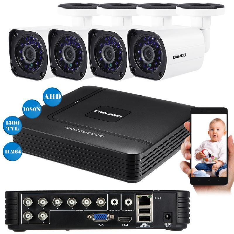 koogeek белый Стандарт США видеорегистратор для видеонаблюдения