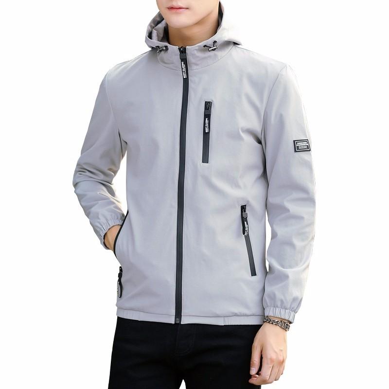 Xuanxuan diary Серый XL yoms куртки мужские куртки с длинными рукавами печати прилив корейский монах воротник молния куртки хетер грей xl 180
