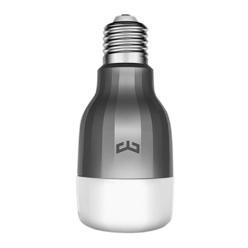 Lenovo Белый цвет mi yeelight интеллектуальная лампа 9w e27 винтовая основа энергосберегающее беспроводное управление wifi
