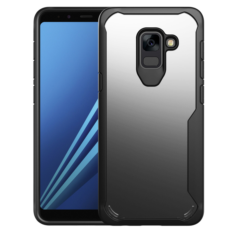 goowiiz чёрный Samsung Galaxy A8 Plus 2018 blackview a8 смартфон