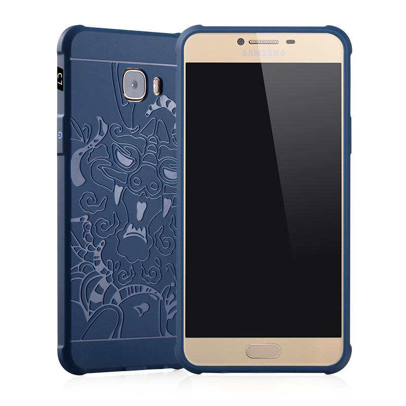 goowiiz Дракон Синий Samsung Galaxy C5