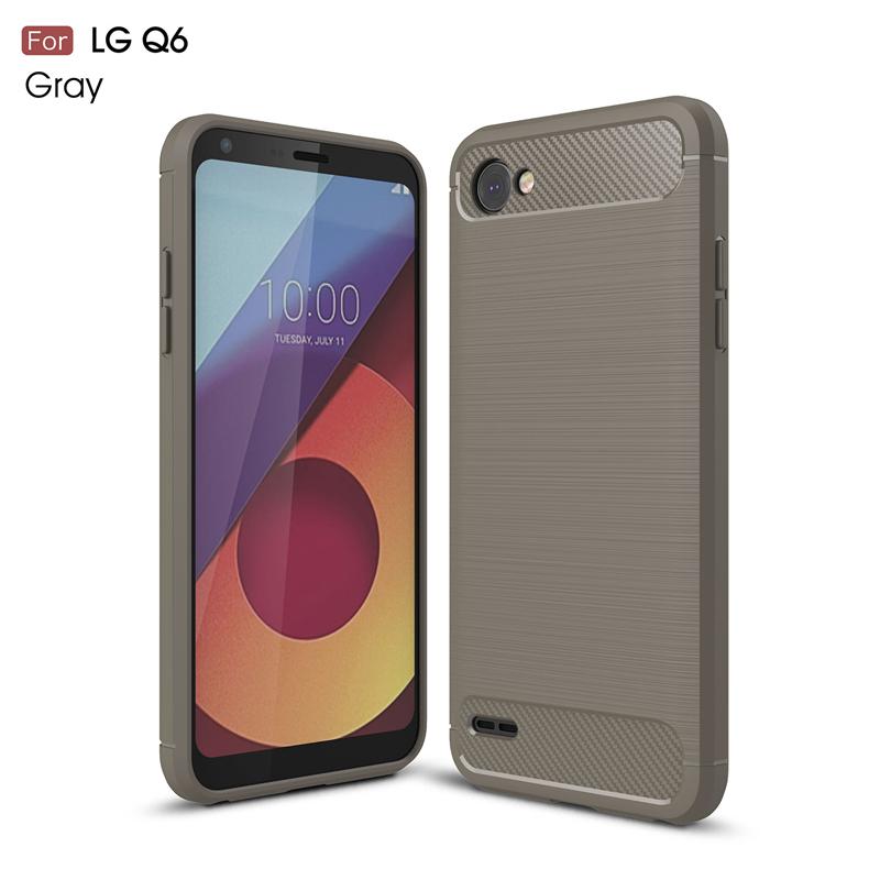 goowiiz Серый LG Q6 Q6 Plus смартфон lg q6 чёрный