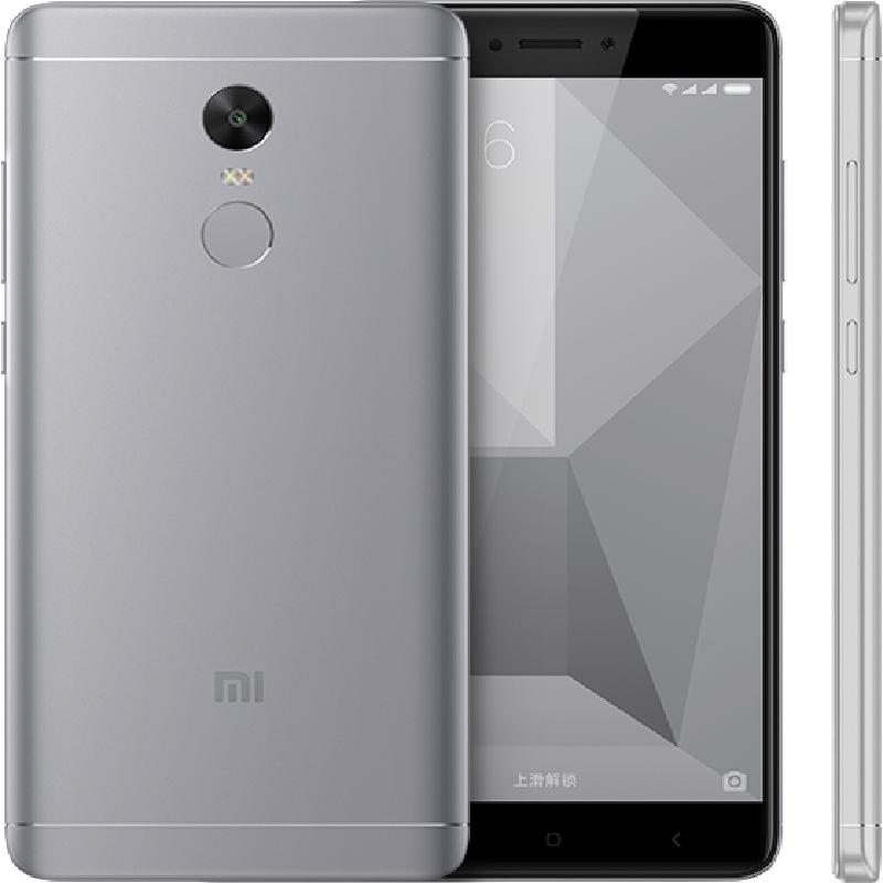 Tissbely Серый global version xiaomi redmi 4x 3gb 32gb smartphone black