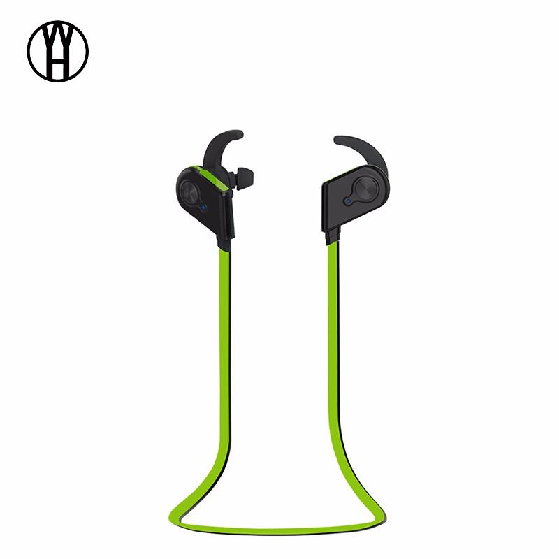 WH Зеленый беспроводная связь bluetooth стерео гарнитура спортивные наушники наушники для smartphone