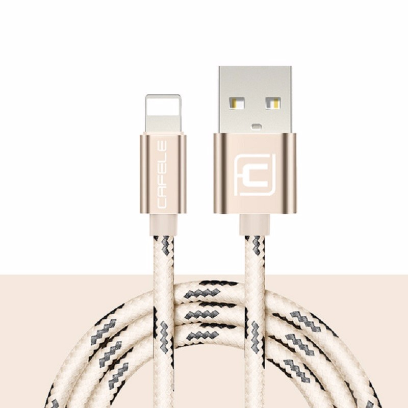 Cafele Золотой цвет 12m baseus new era 0 9m lightning 8pin charging data sync retractable charge cable for iphone 7 plus 7 etc ios 10 9 8 gold