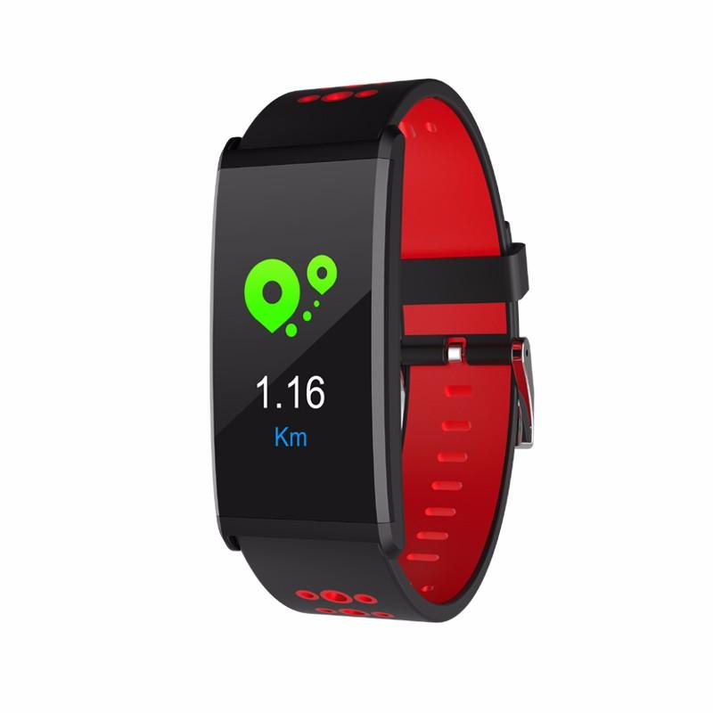 HRAEFN Red z8 кровяное давление watch blood oxygen heart rate monitor smart bracelet fitness tracker wristband watch
