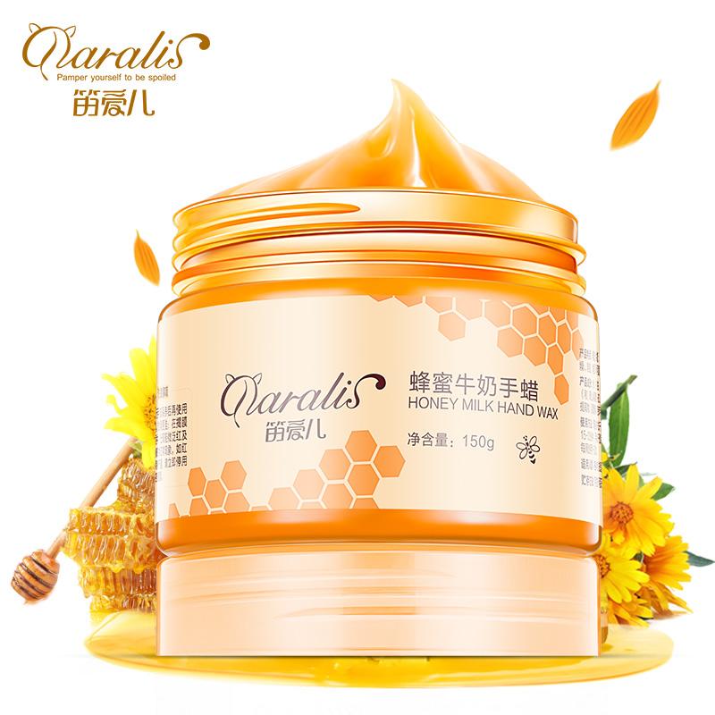 Milk Honey Paraffin Wax Hand Mask Hand Care Увлажняющий отбеливающий уход за кожей care daily dres mink skin rejuvenation mask хороший увлажняющий эффект материнская маска 72 часовая долгосрочная глубокая гидратация для беременных женщин