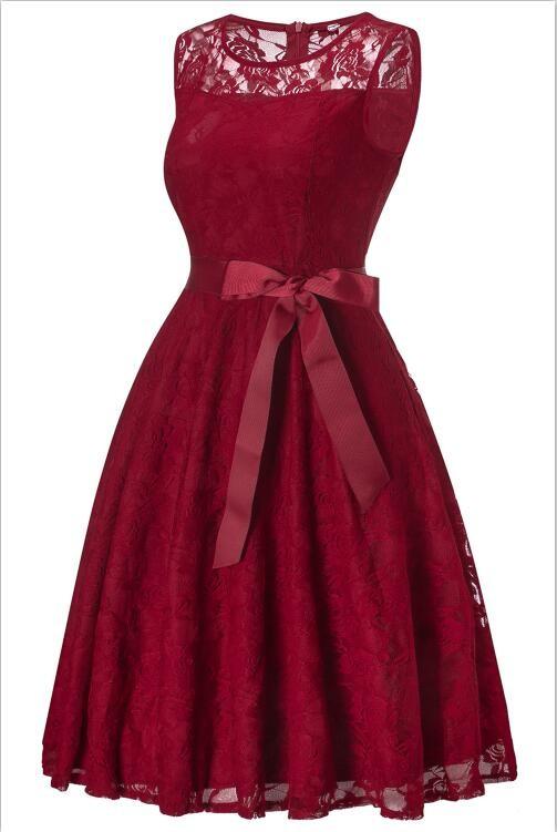 Платье для выпускного вечера малыш платье Красное вино XXL фото