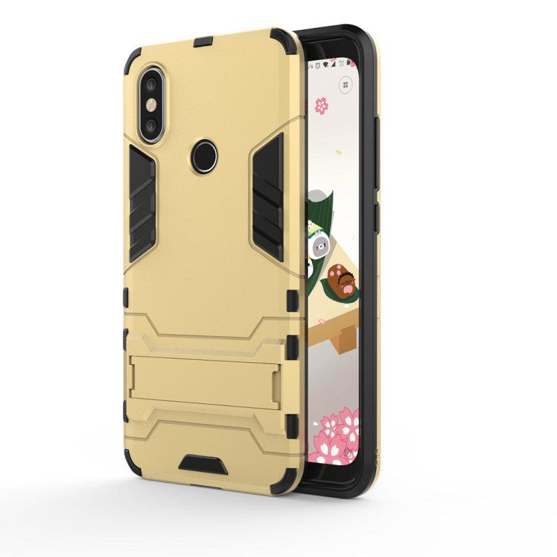 WIERSS Золото для Xiaomi Mi A2 Ударопрочный жесткий чехол для телефона