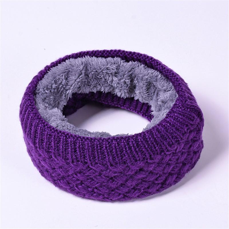 CXSHOWE Фиолетовый шарфы foxtrot шарф изабелла