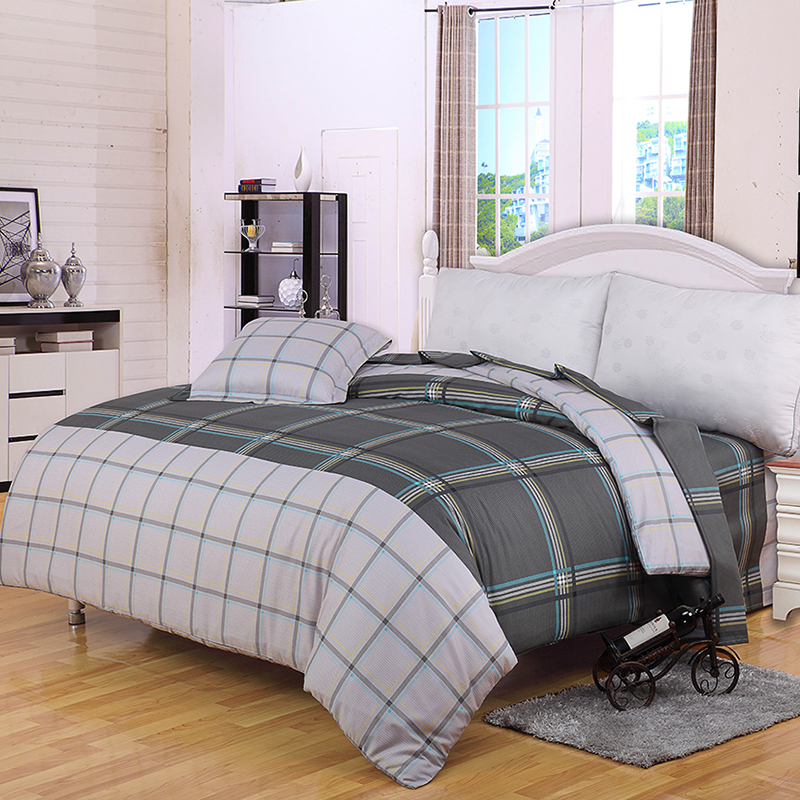 JD Коллекция стандарт 220240cm mercury постельные принадлежности набор 4 штуки простыня с набивной чехол на одеяло 100