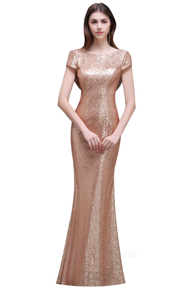малыш платье Розовое золото США 8 Великобритания 12 ЕС 38 женское платье a line slim dresses girls ladies shealth dress для live show party dancing
