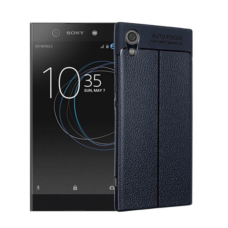 goowiiz Темно-синий Sony Xperia XA1 Ultra аксессуар защитное стекло sony xperia xa1 luxcase 0 33mm 82170