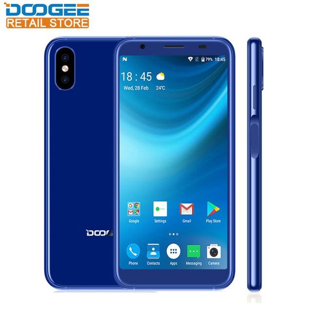 DOOGEE Синий цвет смартфон doogee x55 black