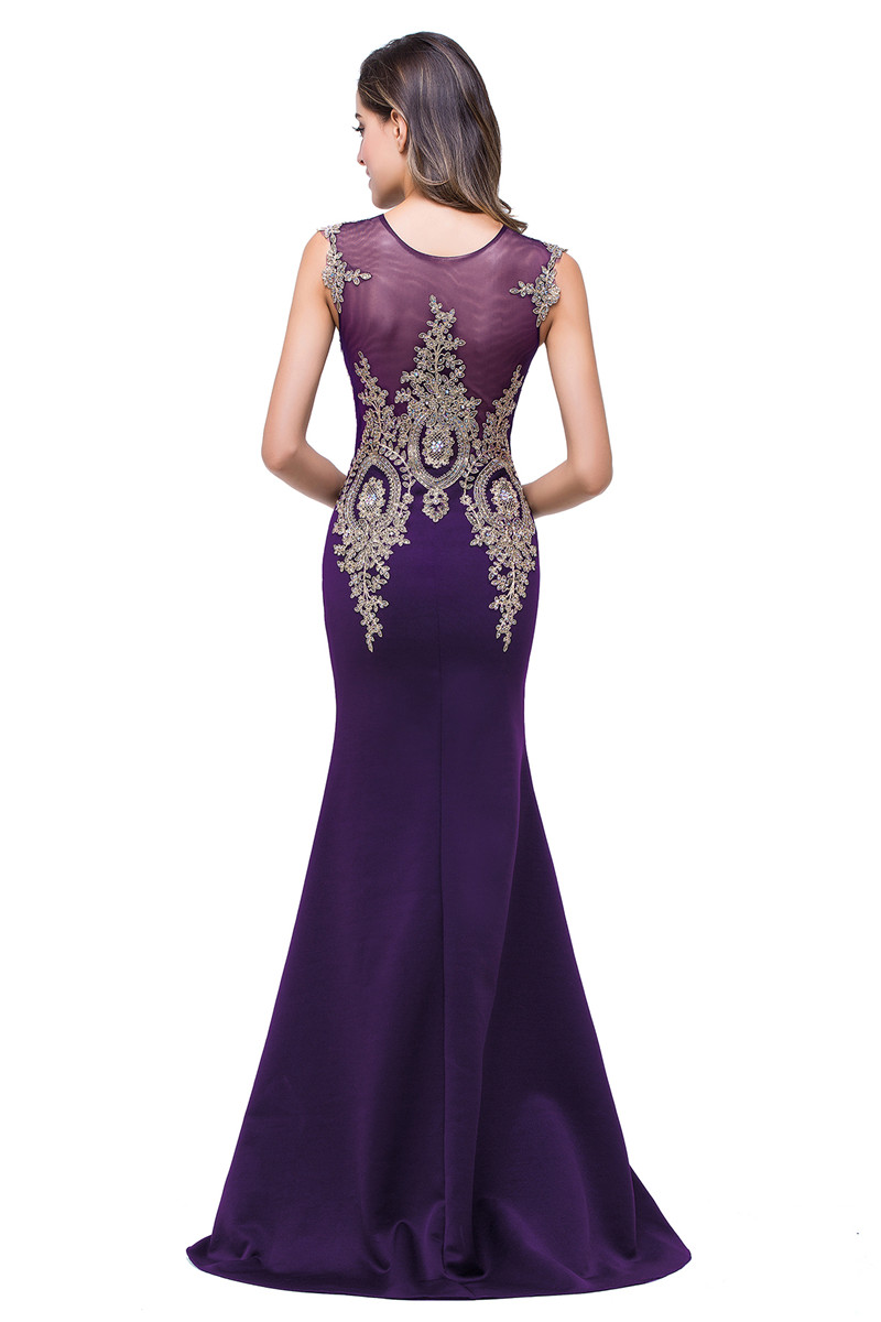 Платье выпускного вечера без рукавов малыш платье Фиолетовый США 10 Великобритания 14 ЕС 40 фото