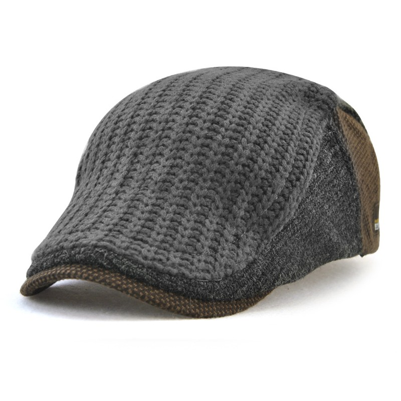 JAMONT Серый the new 2015 autumn winter cap hat knitted hats for men and women tide restoring ancient ways cap