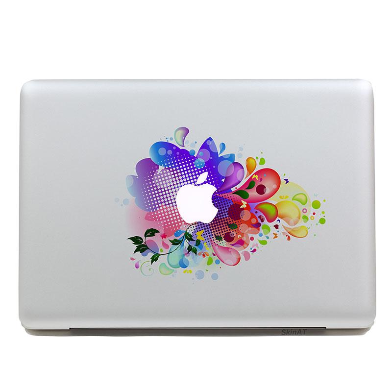 GEEKID geekid макбук наклейка наклейка наклейка наклейка наклейка macbook за частичное воздуха macbook яблока радужная наклейка с mac сетчатки надписи