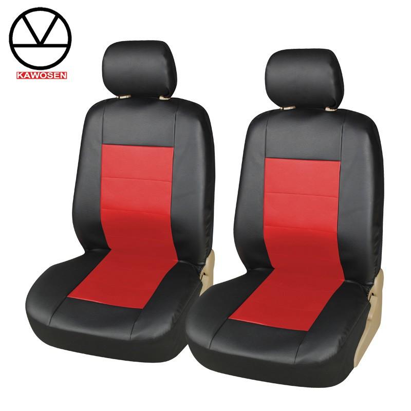 COVERS Красное переднее сиденье 2PCs autoyouth pu leather car armrest pad memory foam universal auto armrests covers with phone pocket for vw bmw audi honda