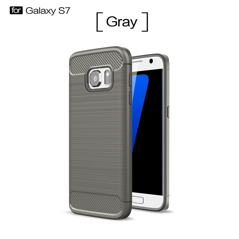 KYKEO Серый Samsung Galaxy S7 ultra slim clear phone cases for samsung galaxy s6