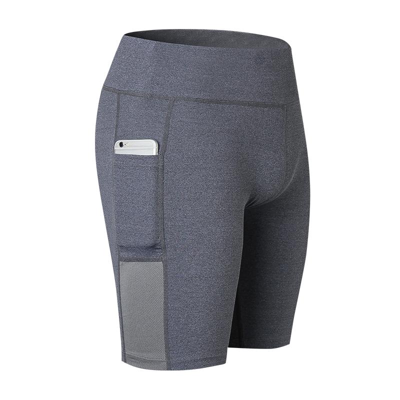 yuerlian Серый XXXL fbf005 female sports shorts