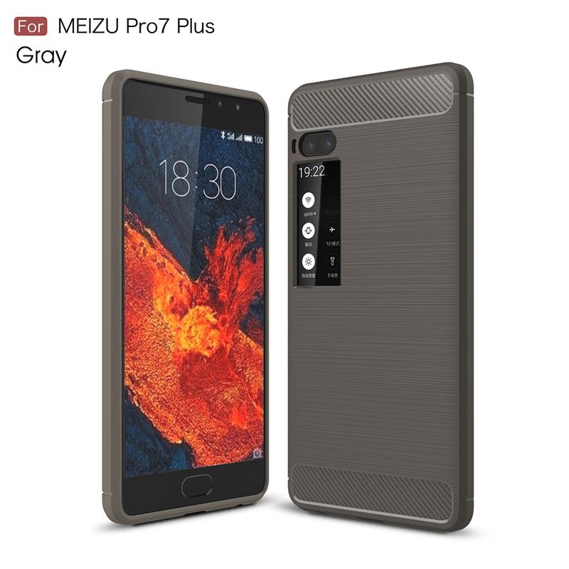 goowiiz Серый Meizu Pro7 Plus смартфон meizu pro7 plus 64gb 6gb amber gold m793h
