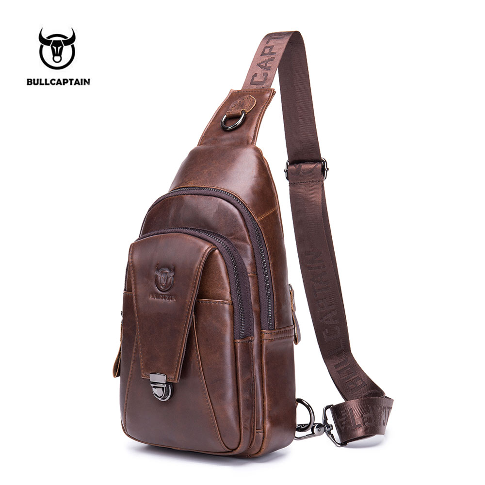 Кофе genuine leather men small bag shoulder messenger bags travel waist pack phone pouch