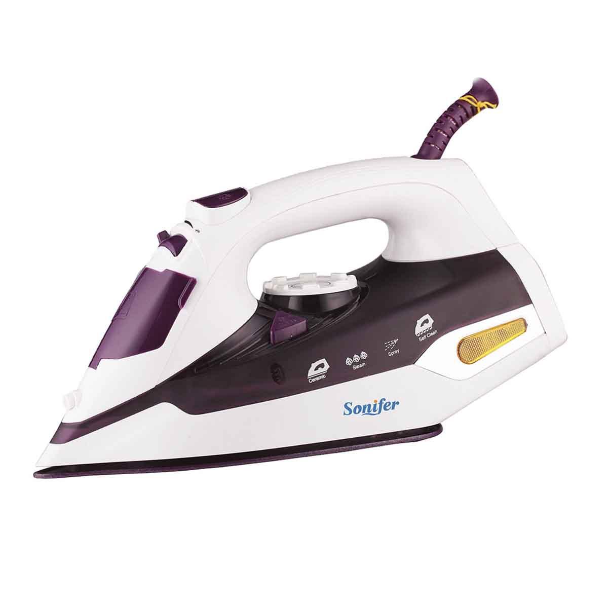 SONIFER Пурпурный Стандарт ЕС braun ts765a бытовой паровой электрический утюг