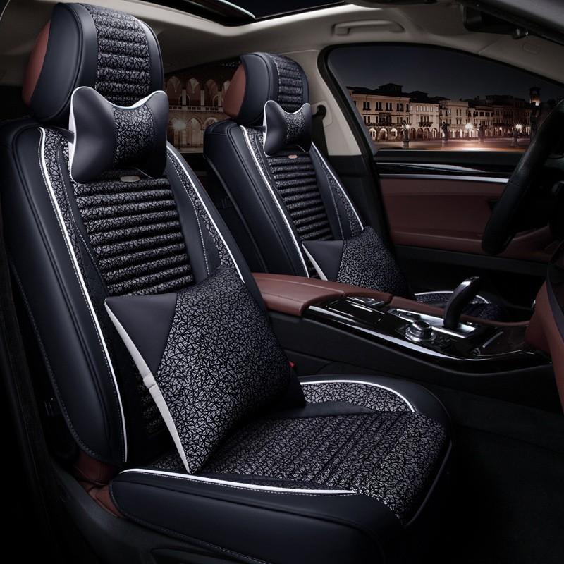 Автокресла автомобильные аксессуары для салона автомобильные сиденья коврики сидения для автомобилей To Your Taste auto accessories Black Свежий стиль фото