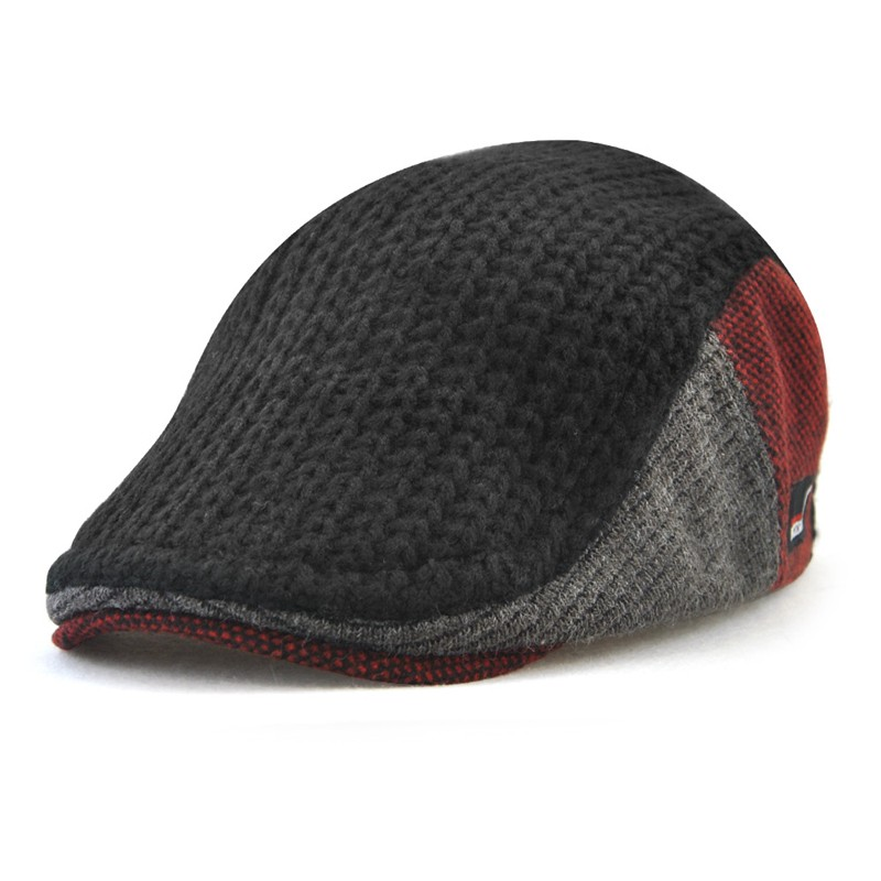 JAMONT черный the new 2015 autumn winter cap hat knitted hats for men and women tide restoring ancient ways cap