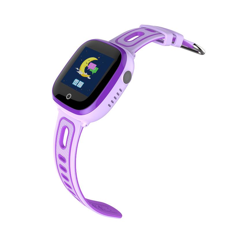 CHIGU Фиолетовая русская версия 38мм smarcent df25 gps smart watch sos call ip67 waterproof smartwatch for child kids safe device tracker anti lost pk q50 q90 q100