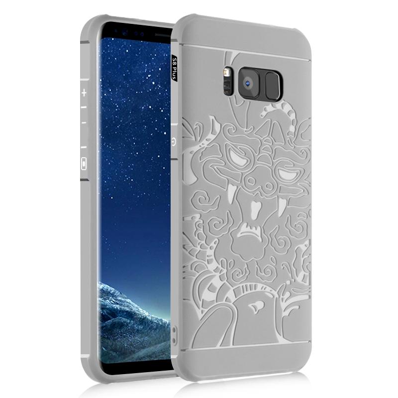 goowiiz Дракон серый Samsung Galaxy S8 Plus ipaky светло серый samsung galaxy s8