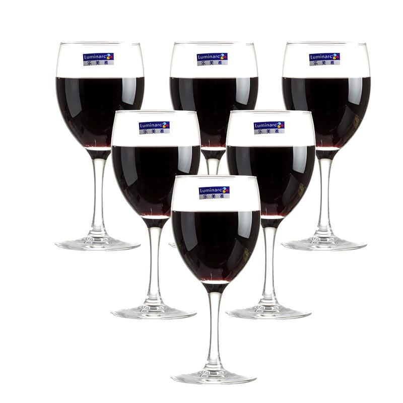 JD Коллекция Красное вино 350мл 6 только что установили дефолт luminarc бокал для вина luminarc domino 350 мл
