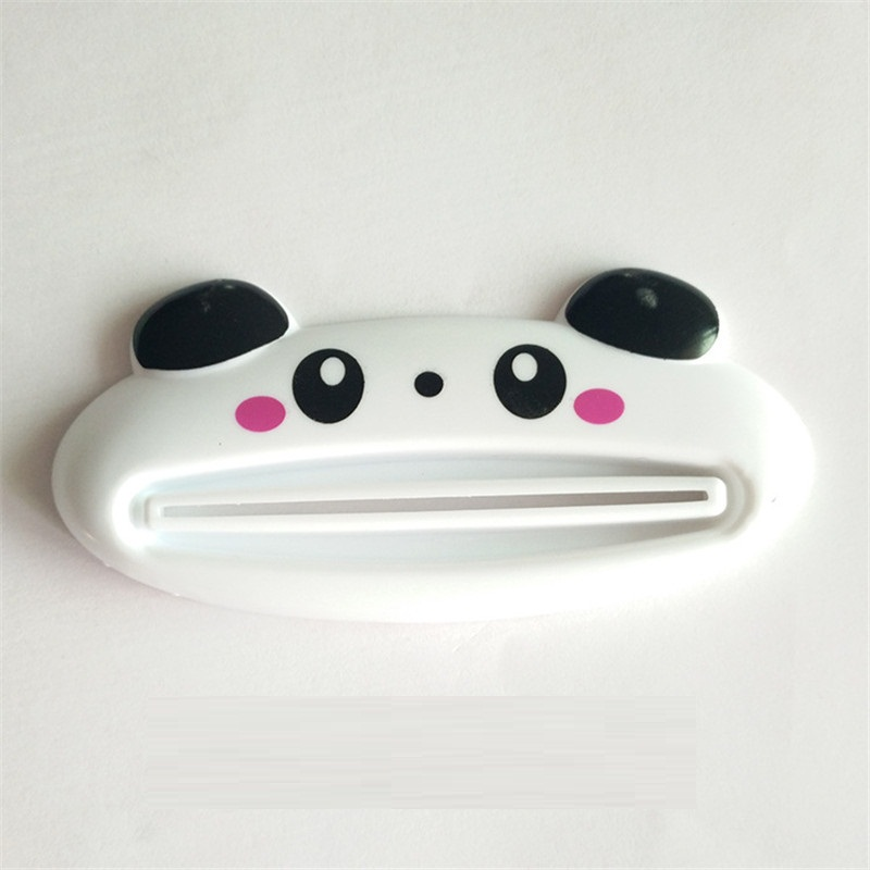 kangfeng Белый цвет 1 pcs cartoon animal toothpaste tube squeezer easy squeeze paste dispenser roll holder tslm1