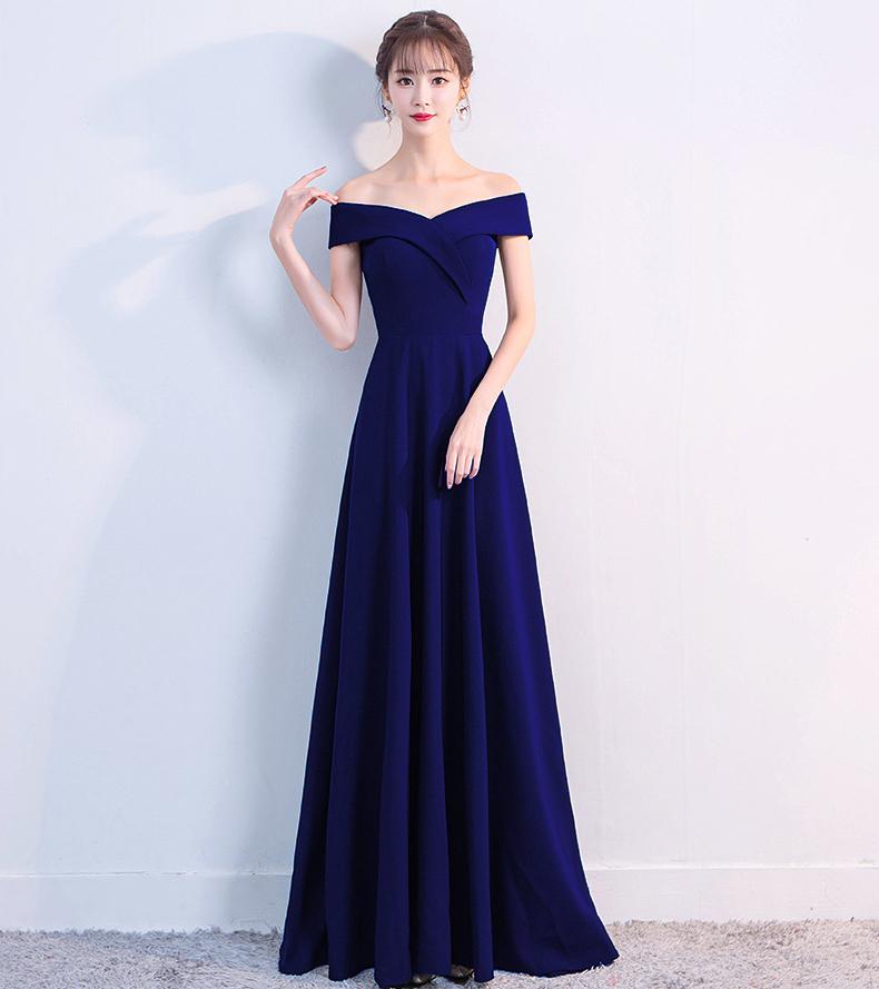 Вечернее платье Robe De Soiree Mermaid Kalinnu Purplish Blue S фото