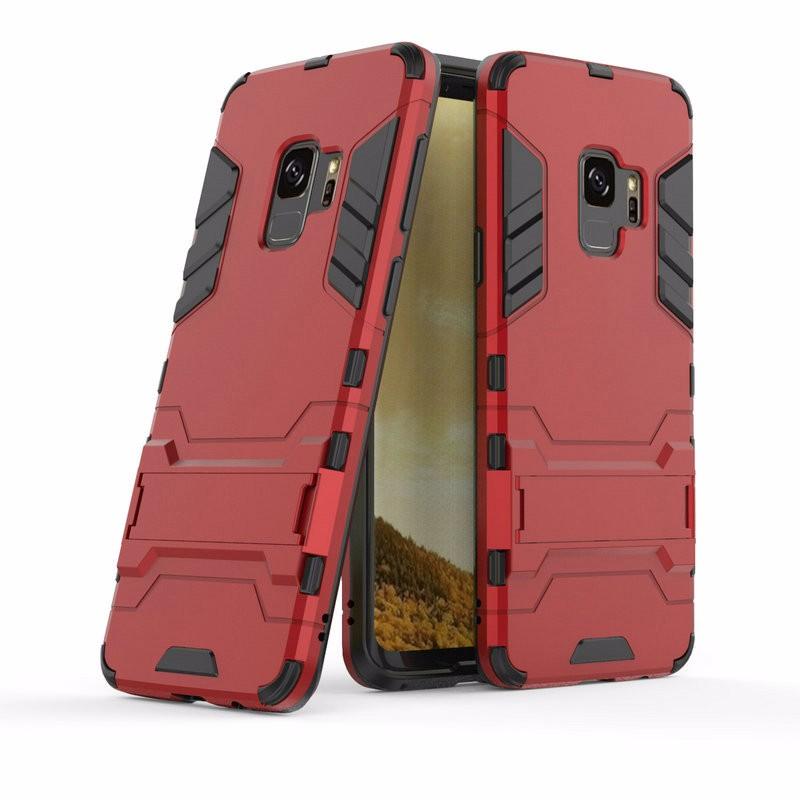 WIERSS красный для Samsung Galaxy S9 Plus для Samsung Galaxy S9 G960 G960F Ударопрочный жесткий чехол для телефона