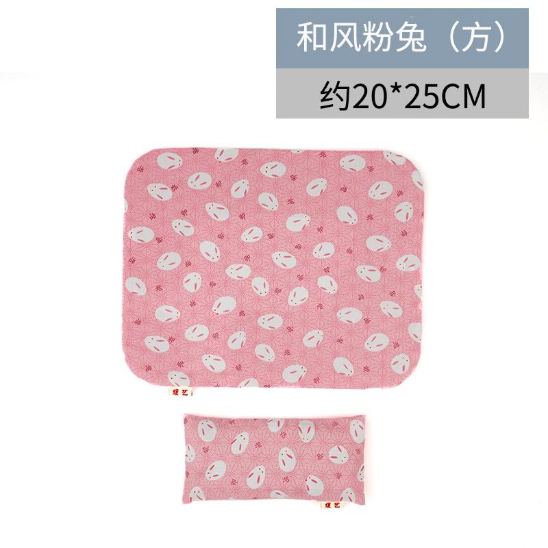 yuanyi Розовый кролик - квадрат рука съемные браслеты коврик для мыши его подушка клавиатура браслеты рука подушка запястье площадку браслеты коврик для мыши